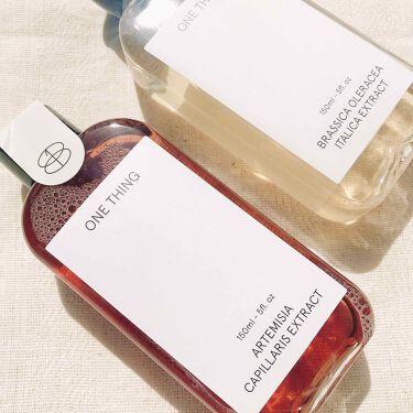 ブロッコリーエキス/ONE THING/化粧水を使ったクチコミ(4枚目)