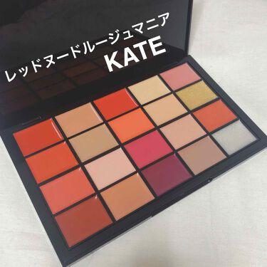 レッドヌードルージュマニア 01/KATE/口紅を使ったクチコミ(1枚目)