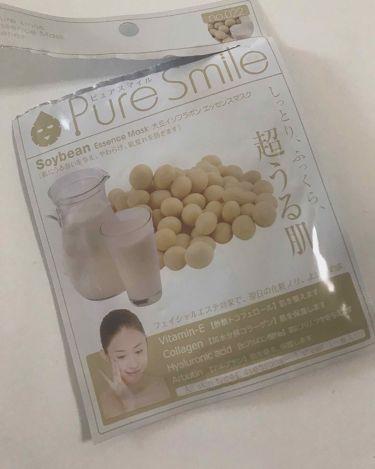 大豆イソフラボン/Pure Smile/シートマスク・パックを使ったクチコミ(2枚目)