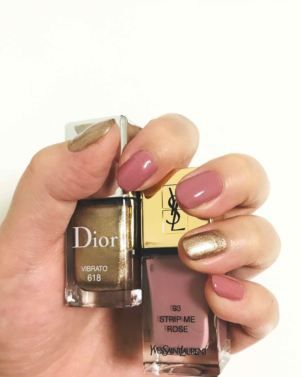 huge discount 3e3c5 81aa4 ディオール ヴェルニ|Diorを使った口コミ 「☆YSLララック ...