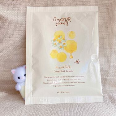はちみるく とろとろクリームバス/VECUA Honey/入浴剤を使ったクチコミ(1枚目)