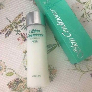 Floraさんの「アルビオン薬用スキンコンディショナー エッセンシャル<化粧水>」を含むクチコミ