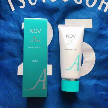 ACアクティブ ウォッシングフォーム/NOV/洗顔フォームを使ったクチコミ(1枚目)
