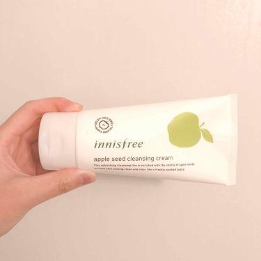 アップルシード クレンジングクリーム/innisfree/洗顔フォームを使ったクチコミ(1枚目)