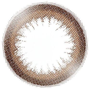 eye closet 1DAY(アイクローゼット ワンデー) SILHOUETTE CAMEL