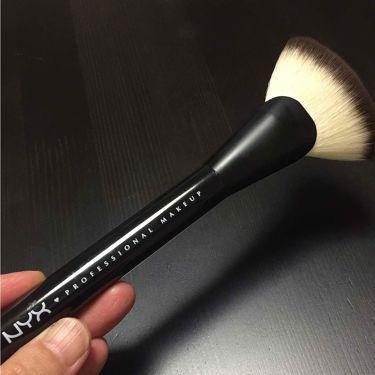 ファンブラシ 6/NYX Professional Makeup/メイクブラシを使ったクチコミ(1枚目)