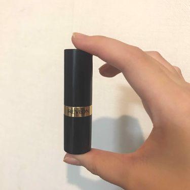 スーパー ラストラス リップスティック/REVLON/口紅を使ったクチコミ(2枚目)