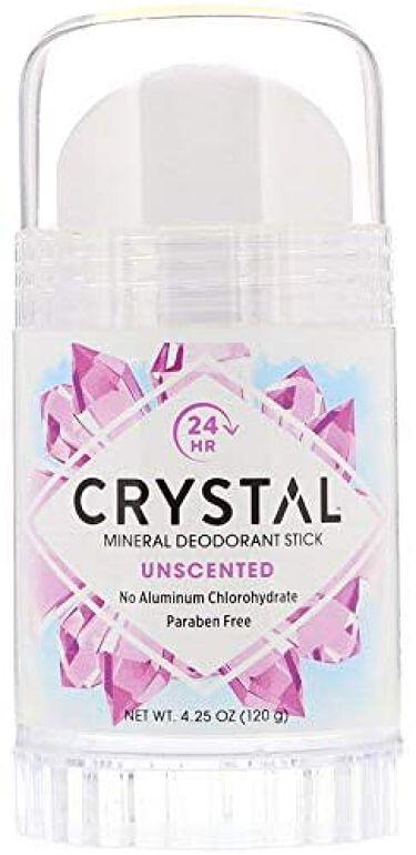 CRYSTAL MINERAL DEODORANT STICK Crystal Body Deodorant