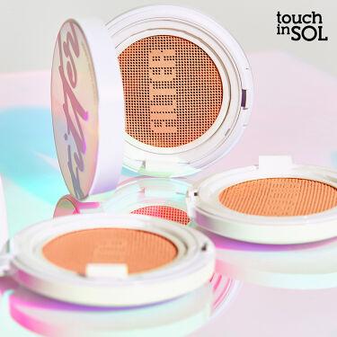 【公式】touch in SOL on LIPS 「プリティーフィルタータッチカバークッション密着、カバー、持続力..」(1枚目)