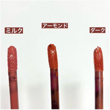 キスチョコレート ムースティント/ETUDE/口紅を使ったクチコミ(3枚目)
