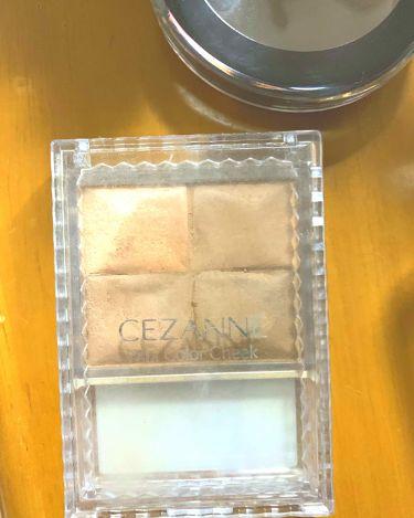 ミックスカラーチーク/CEZANNE/パウダーチークを使ったクチコミ(2枚目)