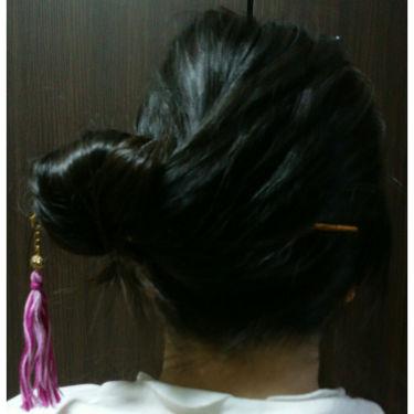 まとめ髪つくるフォーム/リーゼ/ヘアムースを使ったクチコミ(1枚目)