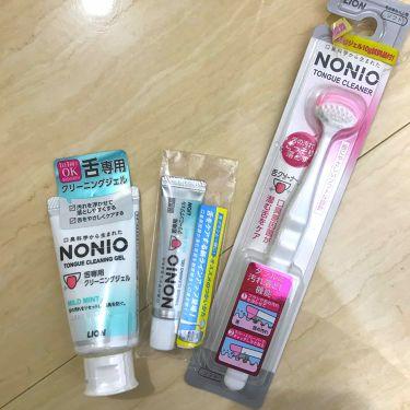 NONIO 舌専用クリーニングジェル/NONIO/その他オーラルケアを使ったクチコミ(1枚目)