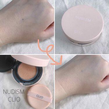 ヌーディズムベルベットウェアクッション/CLIO/その他ファンデーションを使ったクチコミ(1枚目)