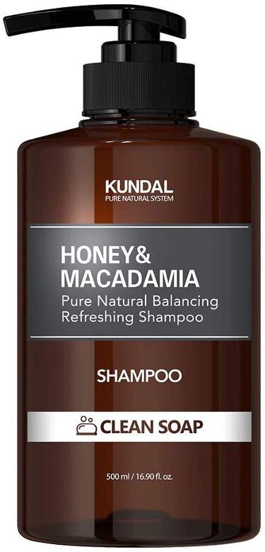 ハニー&マカダミア ナチュラルシャンプー クリーンソープ Clean soap