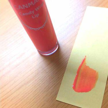 キャンディラップリップ/CANMAKE/リップグロスを使ったクチコミ(3枚目)