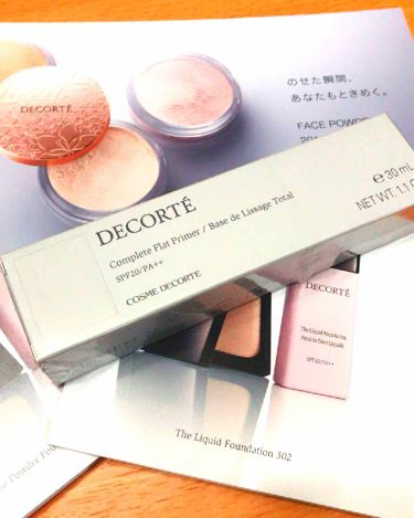 コンプリート フラット プライマー/COSME  DECORTE/化粧下地を使ったクチコミ(1枚目)