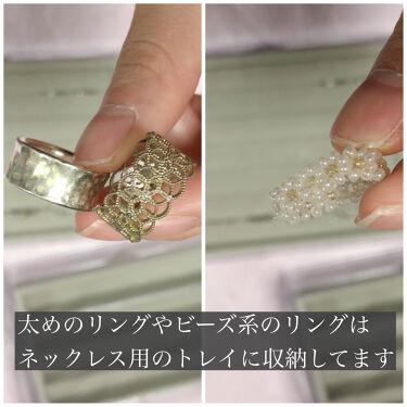 3段式クリアーケース/DAISO/その他化粧小物を使ったクチコミ(6枚目)