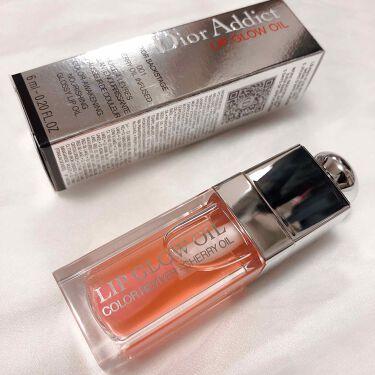 ディオール アディクト リップ グロウ オイル/Dior/リップグロスを使ったクチコミ(1枚目)