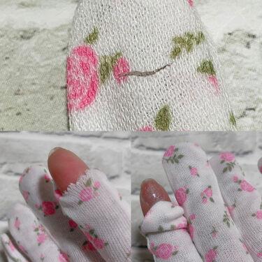 綿手袋/DAISO/ボディ・バスグッズを使ったクチコミ(2枚目)