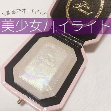ダイヤモンドライト ハイライター ブラシ/Too Faced/メイクブラシ by 駒