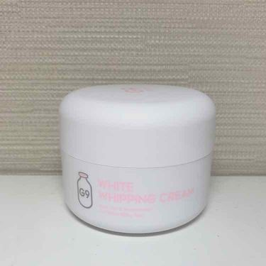WHITE WHIPPING CREAM(ウユクリーム)/G9 SKIN/化粧下地を使ったクチコミ(2枚目)