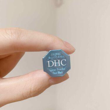 クリアパウダーウォッシュ/DHC/洗顔パウダーを使ったクチコミ(2枚目)