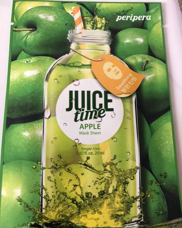 supreme_lips_pedさんの「PERIPERAperipera  juice time フェイスマスク<シートマスク・パック>」を含むクチコミ