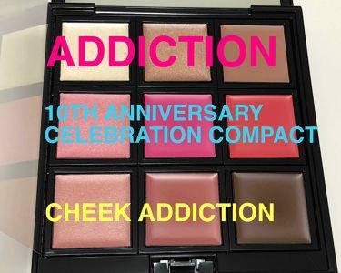 コンパクト 10 リミテッドエディション チーク アディクション/ADDICTION/ジェル・クリームチークを使ったクチコミ(1枚目)
