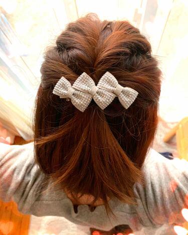 コロン💕 on LIPS 「こんにちは😃コロン💕です今日のヘアアレンジくるりんぱ2回お気に..」(1枚目)