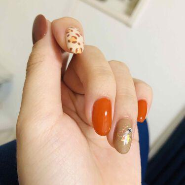 たかし on LIPS 「秋ネイルいちばんかわいい季節#セルフネイル#セルフジェルネイル..」(2枚目)