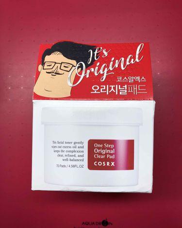 ワンステップ ピンプル クリアパッド/COSRX/シートマスク・パックを使ったクチコミ(1枚目)