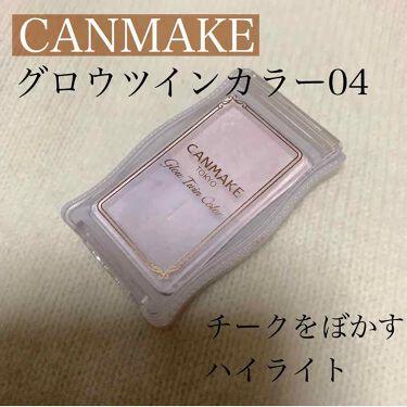 グロウツインカラー/CANMAKE/パウダーアイシャドウを使ったクチコミ(1枚目)