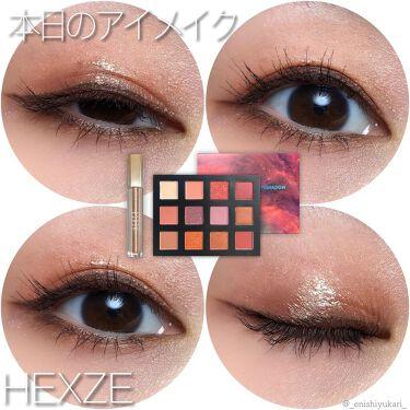 HEXZEスターライトファントム12アイシャドウ01/HEXZE(ヘックスゼ)/パウダーアイシャドウを使ったクチコミ(4枚目)