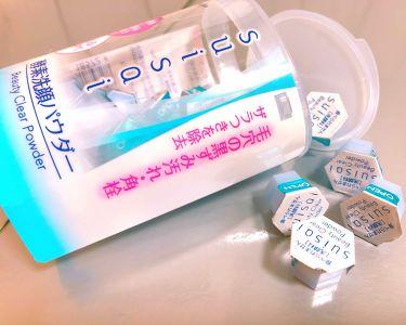 チャンユカさんの「suisaiスイサイ ビューティクリア パウダーウォッシュ<洗顔パウダー>」を含むクチコミ