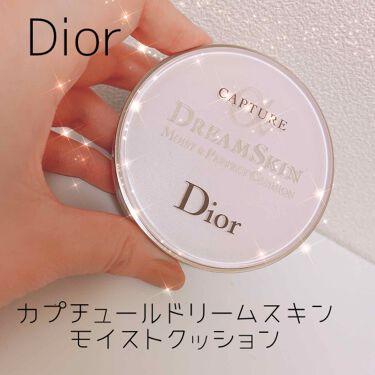 カプチュール ドリームスキン モイスト クッション SPF50 /PA+++ /Dior/クッションファンデーションを使ったクチコミ(1枚目)