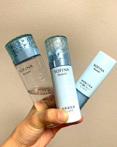 高保湿化粧水 とてもしっとり/ソフィーナ ボーテ/化粧水を使ったクチコミ(1枚目)