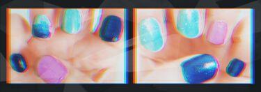 アーティスティックネールズ(グロー&クイック)/MAJOLICA MAJORCA/マニキュアを使ったクチコミ(2枚目)