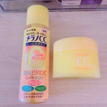薬用しみ対策 美白化粧水 しっとりタイプ/メンソレータム メラノCC/化粧水を使ったクチコミ(1枚目)