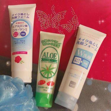 アロエ洗顔フォーム/DAISO/洗顔フォームを使ったクチコミ(1枚目)