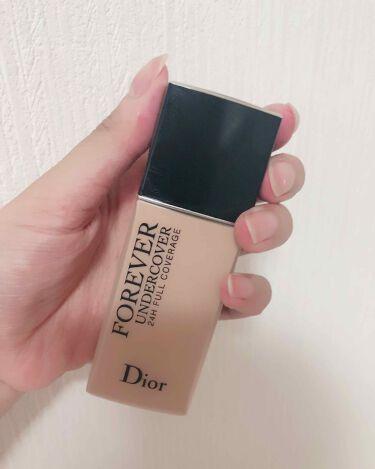 ディオールスキン フォーエヴァー アンダーカバー/Dior/リキッドファンデーションを使ったクチコミ(1枚目)