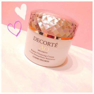 AQ ミリオリティ リペア クレンジングクリーム/COSME  DECORTE/クレンジングクリームを使ったクチコミ(1枚目)