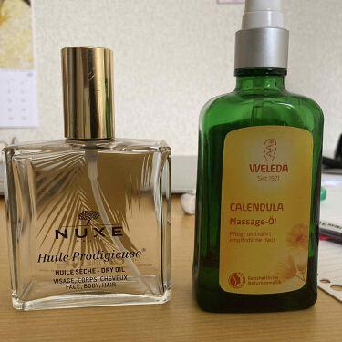 カレンドラ マッサージオイル/WELEDA/ボディマッサージを使ったクチコミ(1枚目)
