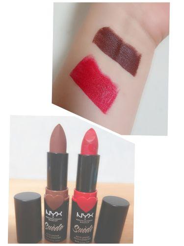 スエードマットリップスティック/NYX Professional Makeup/口紅を使ったクチコミ(2枚目)