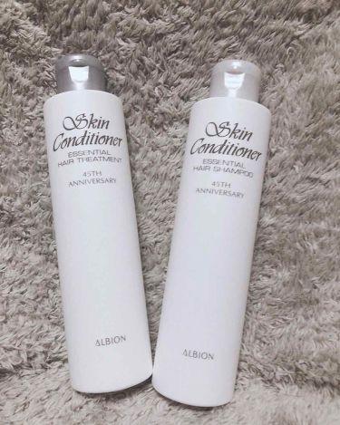 薬用スキンコンディショナー エッセンシャル/ALBION/化粧水を使ったクチコミ(3枚目)