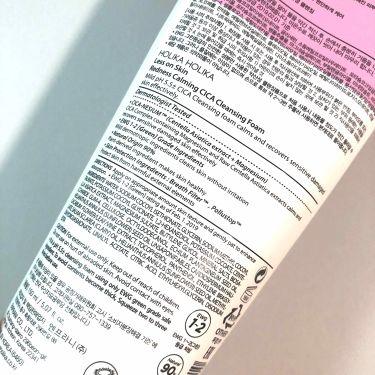 Less On Skin Redness Calming CICA Cleansing Form/Holika Holika/洗顔フォームを使ったクチコミ(2枚目)