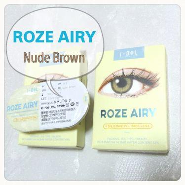 CANNA ROZE AIRY/i-DOL (アイドルレンズ)/カラーコンタクトレンズを使ったクチコミ(2枚目)