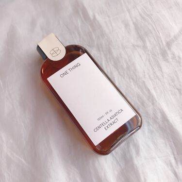 ツボクサエキス(センテラアジアチカ)/ONE THING/化粧水を使ったクチコミ(1枚目)