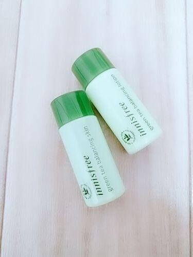 グリーンティー バランシングスキン/innisfree/化粧水を使ったクチコミ(1枚目)