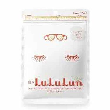 豚眼鏡ちゃんさんの「ルルルンフェイスマスク 白のルルルン(さっぱり透明感タイプ)<シートマスク・パック>」を含むクチコミ